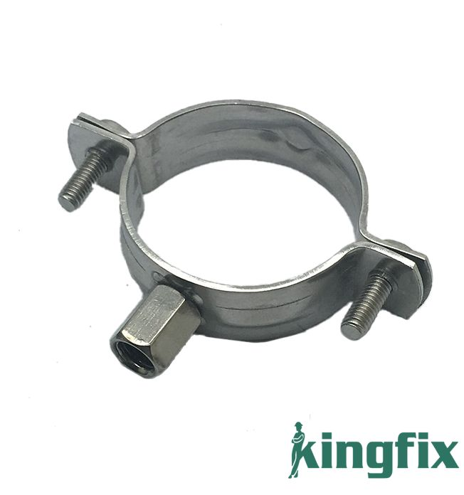 Pipe clamp quot cast iron clamps piece harbor