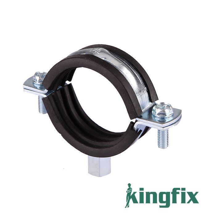 Pipe Clamp With M8+10 Nut & Rubber